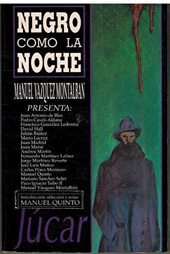9788433407016: Negro como la noche (Spanish Edition)