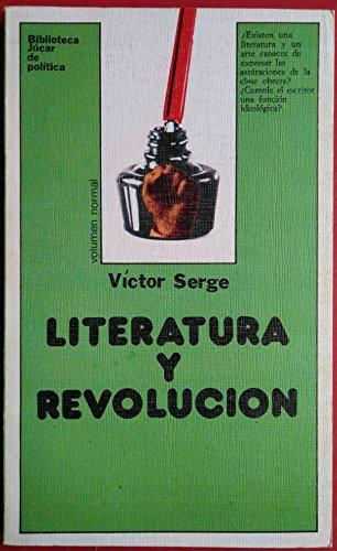 9788433410535: Literatura y Revolucion