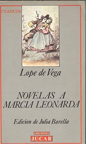 9788433410931: Novelas a marcia leonarda (Biblioteca Júcar)