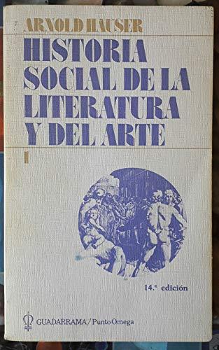 9788433500199: Historia Social de la Literatura y Del Arte Vol. 1