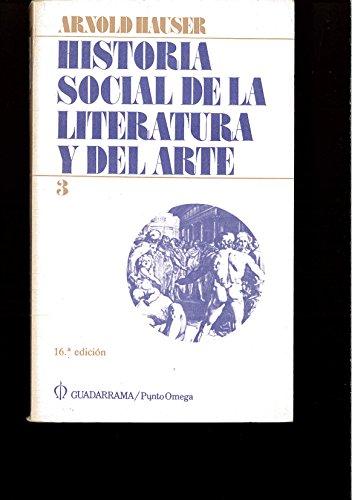 Hauser Arnold Historia Social De La Literatura Y Del Arte 3