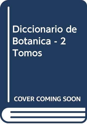9788433500786: Diccionario de Botanica - 2 Tomos (Spanish Edition)