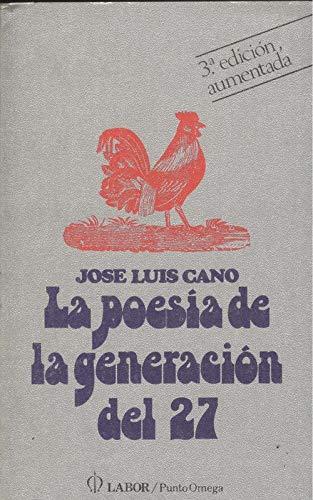 9788433500878: Poesia de la generacion del 27, la