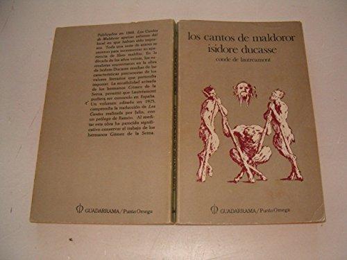 Los cantos de Maldoror (Punto omega) (Spanish Edition) (8433502646) by Lautréamont
