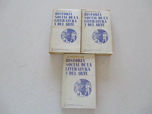 9788433529992: Historia social de la literatura ydel arte. 3 tomos