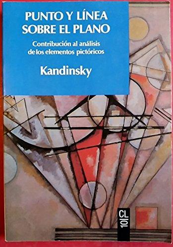 9788433535108: Punto y Linea Sobre El Plano (Spanish Edition)