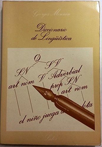 DICCIONARIO DE LINGüÍSTICA: MOURIN, Georges