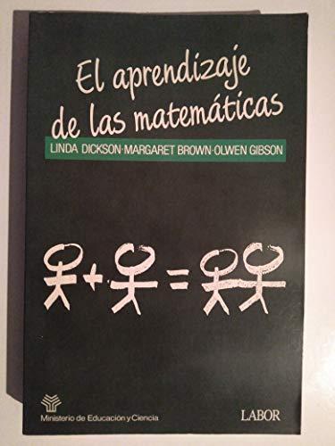 9788433551481: El aprendizaje de las matematicas