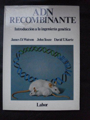 9788433552181: ADN RECOMBINANTE INTRODUCCION A LA INGENIERIA GENETICA