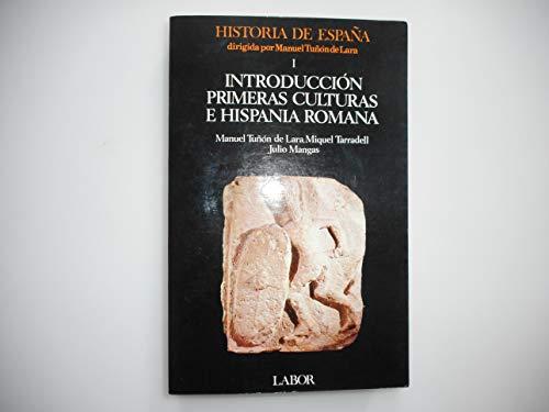 9788433594211: Introduccion, primeras culturas e hispania romana (historia de España;