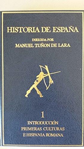9788433594327: HISTORIA DE ESPAÑA. Tomo 1: INTRODUCCION. PRIMERAS CULTURAS E HISPANIA ROMANA