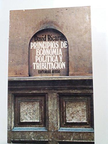 9788433600462: Principios de economía política y tributación