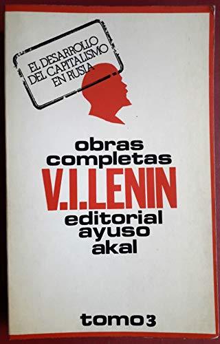 Obras completas III: Lenin, V. I.