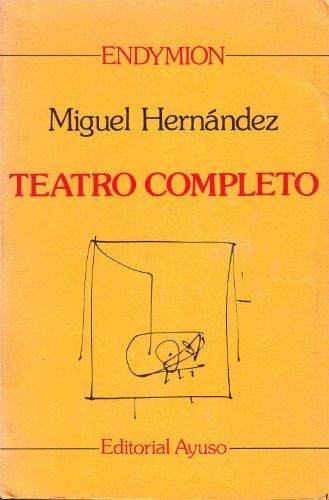9788433601483: Teatro completo (Endymion)