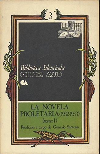 9788433601643: La Novela Proletaria (Tomo I)