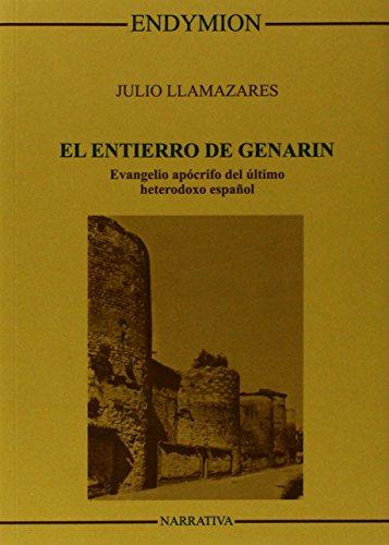 9788433602343: El Entierro De Genarín