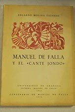 9788433800091: Manuel de Falla y el cante jondo (Spanish Edition)