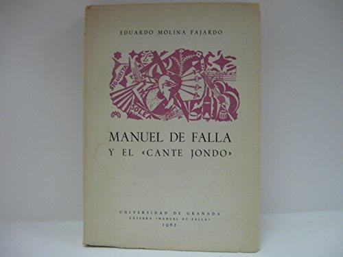 9788433811158: Manuel de falla y el cante jondo