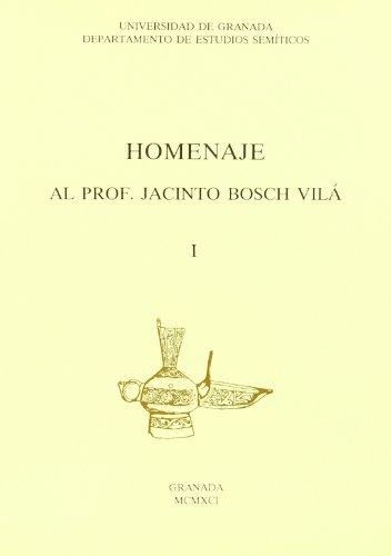 9788433814395: Homenaje al prof. Jacinto Bosch Vila (Fuera de Colección)