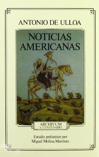 Noticias Americanas: Antonio De Ulloa