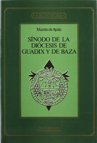 9788433818676: Sínodo de Guadix y de Baza (1554) (Archivum)
