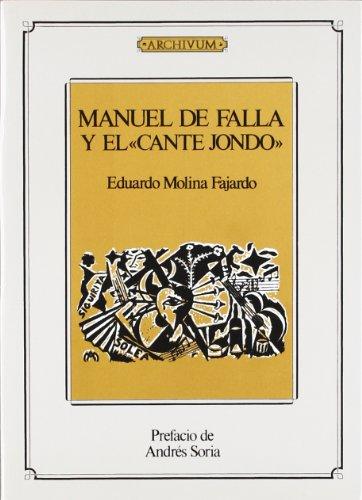 9788433824486: Manuel de Falla y el