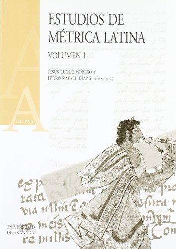 9788433826213: Estudios de métrica latina (Actas)