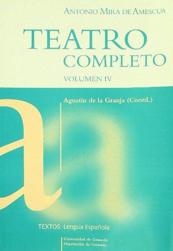 9788433828118: Teatro completo vol I (Textos / Lenguas Española)