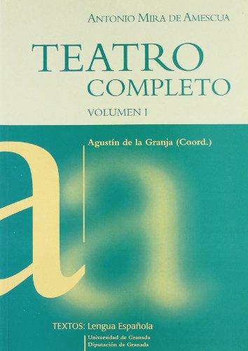 9788433828125: (I) teatro completo (vol. I)