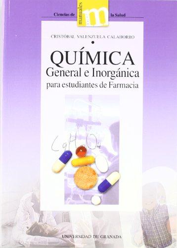 9788433829054: Química general e inorgánica para estudiantes de farmacia (Manuales Major/Ciencias de la Salud)