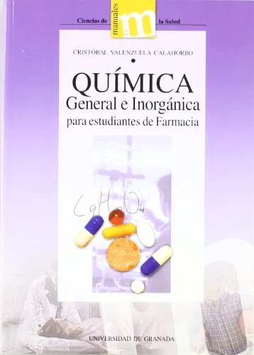 9788433829054: Química general e inorgánica para estudiantes de farmacia