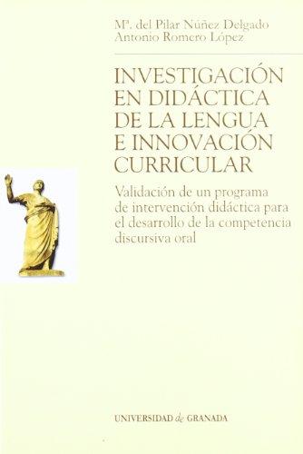 Investigación en didáctica de la lengua e: María del Mar
