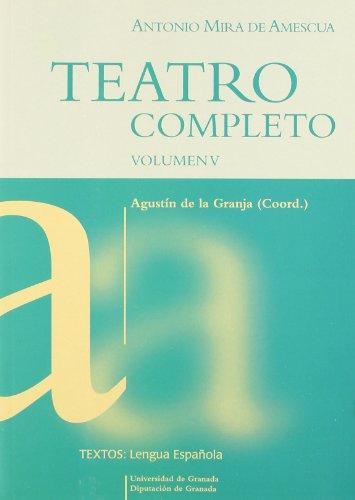 9788433835055: Teatro completo - volumen V -