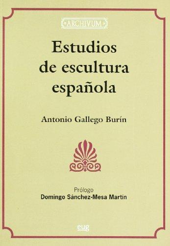 9788433839633: Estudios de escultura española (En coedición con el Servei de Publicacions de la Universitat de València)