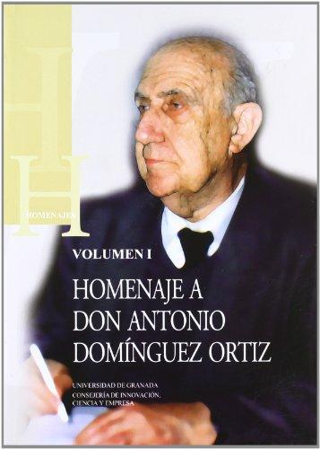9788433845481: Homenaje a Don Antonio Domínguez Ortiz (Homenajes)