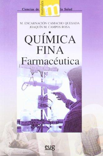 QUIMICA FINA FARMACEUTICA: Camacho Quesada, Mª