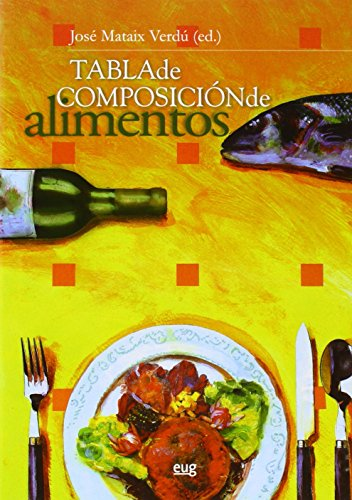 Tabla de composiciones. 5 edicion - J Mataix Verdú