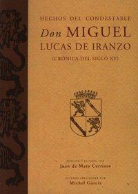 9788433850034: Hechos del Condestable Don Miguel Lucas de Iranzo (Fuera de Colección)