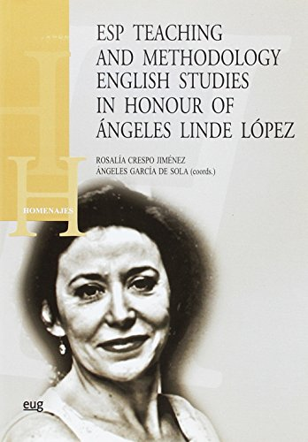 9788433852342: Esp teaching and methodology english studies in honour of Ángeles Linde López (Homenajes)