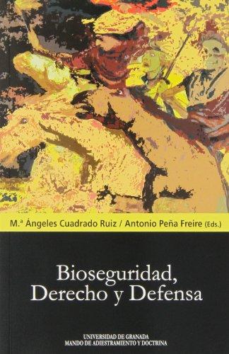 9788433855480: Bioseguridad, derecho y defensa (Biblioteca Conde de Tendilla)