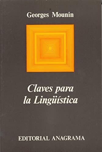 9788433900098: Claves Para La Linguistica (Spanish Edition)