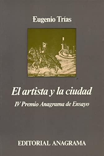 9788433900401: El artista y la ciudad (Argumentos)