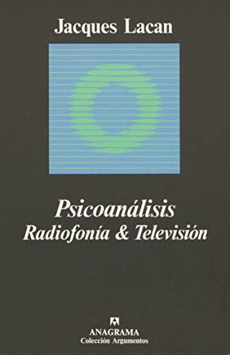 9788433900456: Psicoanálisis. Radiofonía & Televisión.