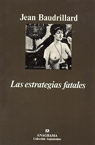 9788433900746: Las estrategias fatales (Argumentos)
