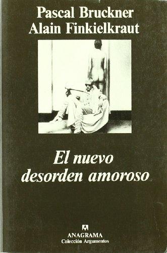 9788433900944: NUEVO DESORDEN AMOROSO (ANAGRAMA)