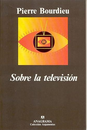 9788433905475: Sobre la televisión (Argumentos)