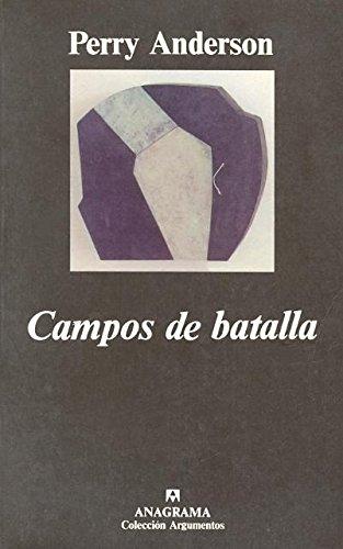 9788433905529: Campos de batalla (Argumentos)