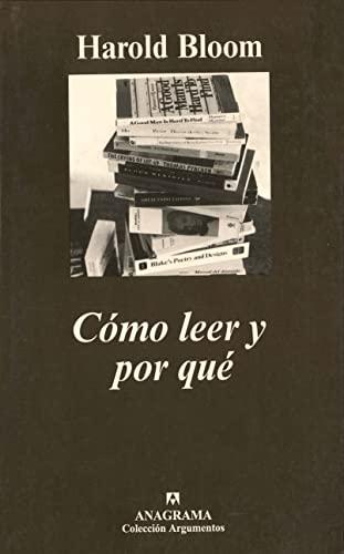 COMO LEER Y POR QUE (A) (8433905996) by [???]