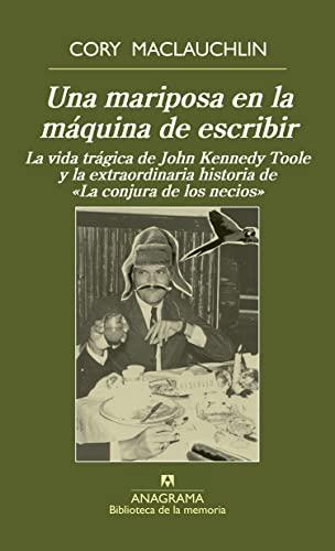 9788433907981: Una Mariposa En La Máquina De Escribir (Biblioteca de la memoria)