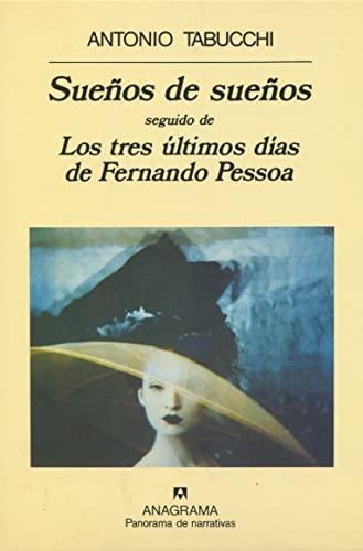 9788433908223: Suenos de suenos (Panorama de Narrativas) (Spanish Edition)